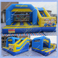 New Minions Inflatable Castle Add Slide for Kids,Inflatable Jumping Castle Combo Bouncer for Commercial