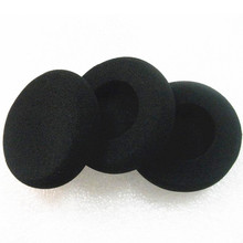 Linhuipad 2000pcs Soft Foam Ear Pads Cushion 58mm Headset Sponge Durable pads 5.8cm for callcenter headsets