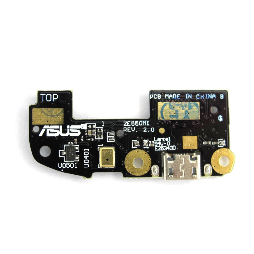 Lysee Mobile Phone Flex Cables For Asus zenfone 2 Ze500cl Z00D 5.0 USB Charging Port Dock Connector Plug Data Transfer Mic Microphone Board Flex Cable