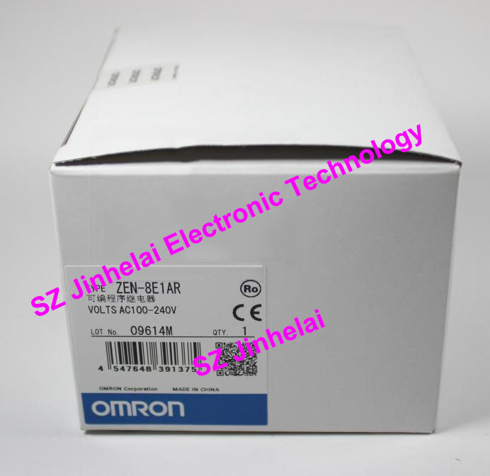 100%New and original ZEN-8E1AR OMRON Programmable relay 100-240VAC new original omron relay 5pcs lot my2n gs ac220v my2n gs 220vac my2n j 220vac my2n gs 220 240vac my2n j 220 240vac 5a 8 pin