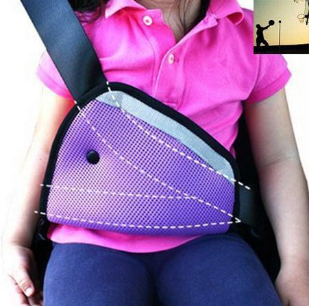 carstyling Safety Belt Protector Padding Triangle ChildCar Safety Belt Adjuster Baby Car Safety Belt for Peugeot ford Volkswagen