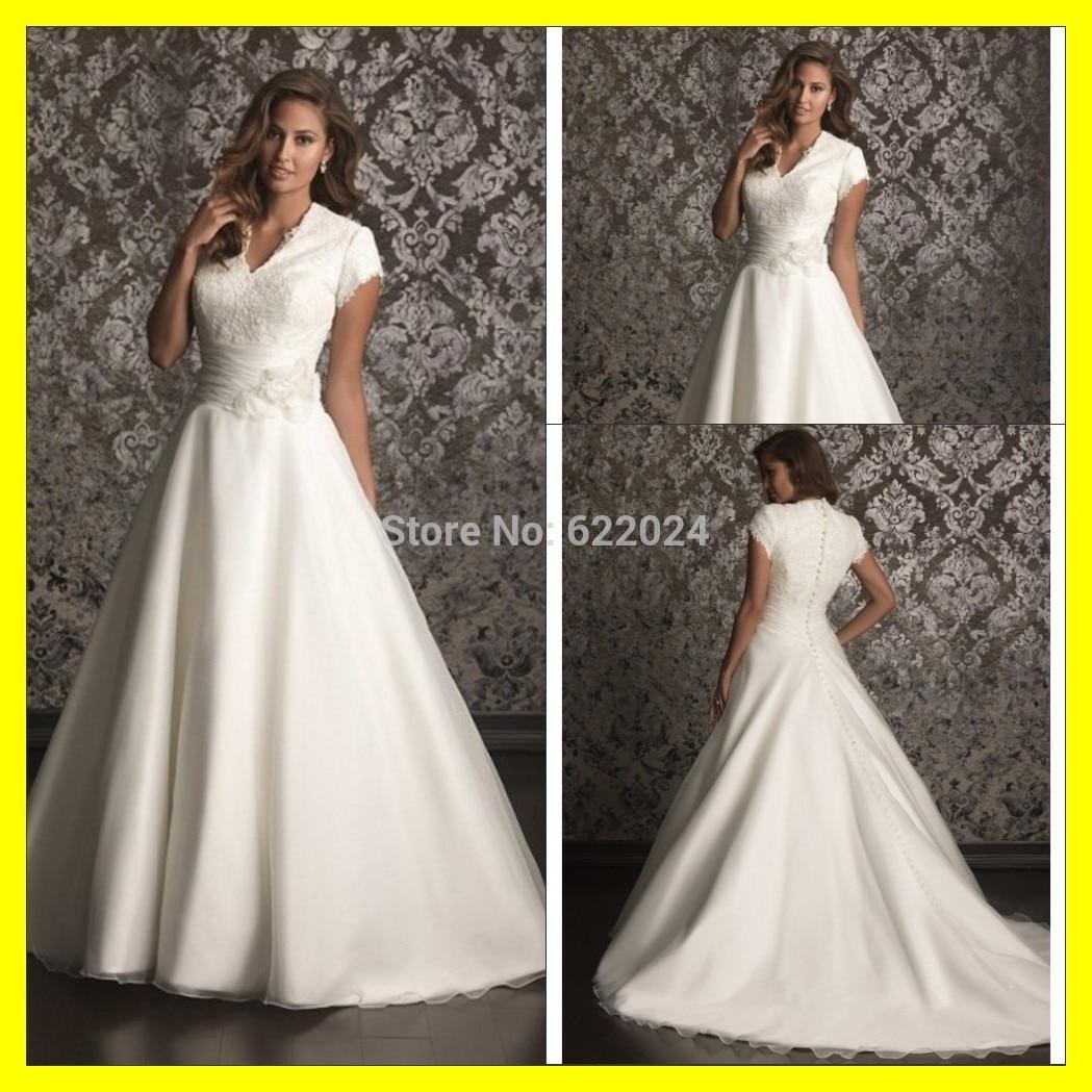 Buy Short Designer Wedding Dresses White