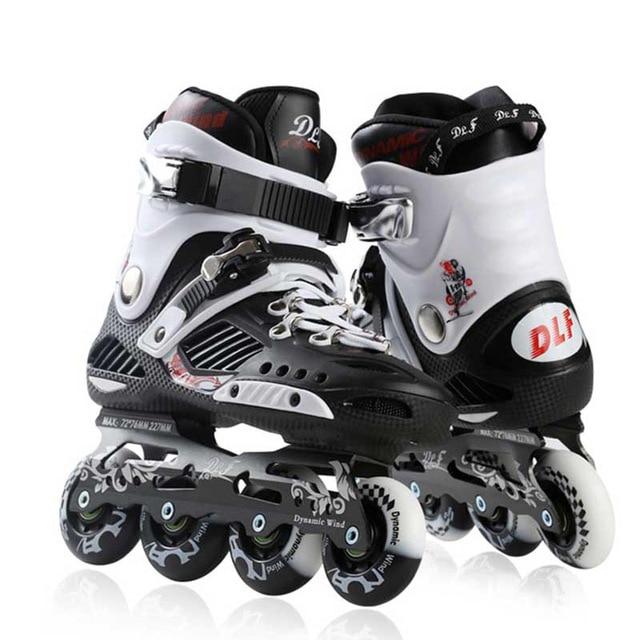 Adult Inline Skates Professional Slalom Roller Skating Shoes Sliding Free Roller Skating Good Quality As SEBA Patines DLF IA23