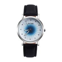 Модные туфли со стразами Для женщин пара кварцевые наручные часы Кристалл кожаный ремешок часы Для мужчин студенты Любители часы Relogio Feminino
