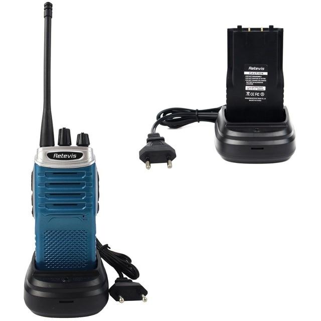 Двухстороннее Радио Retevis RT7 5 Вт 16 Каналов UHF 400-470 МГц Fm-радио VOX Сканирования Walkie Talkie радио Синий (Silver Side) A9111LS