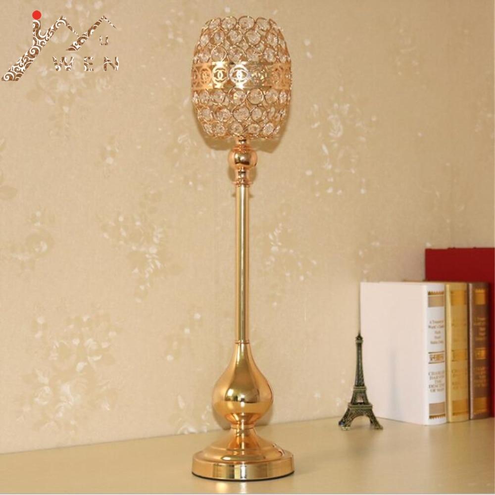 Držitelé zlaté svíčky událost svícny strana kreativní tykev tvar křišťál svatební vrchol svícen 1 sada = 3 ks