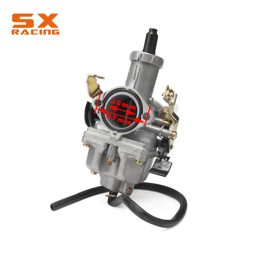 Image 2 - RUSSIA PZ30 30MM Accelerating Pump Tuning Power Jet Carbureter + Visiable Twister +Dual Reinforced Cable + Grips Motorcycle-in Carburetor from Automobiles & Motorcycles