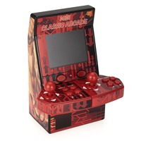 Upgraded Mini Classic Arcade Game Cabinet Machine Double Joystick Retro Handheld Player With Built In 183