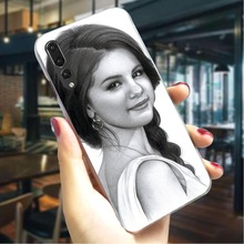 Selena Gomez Hard Cover for Huawei P10 Lite Print Phone Case Mate 20 Pro P8 2017 P9 2016 Cases Back