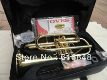 Wholesale Direct selling B the cornet trumpet instrument surface gold