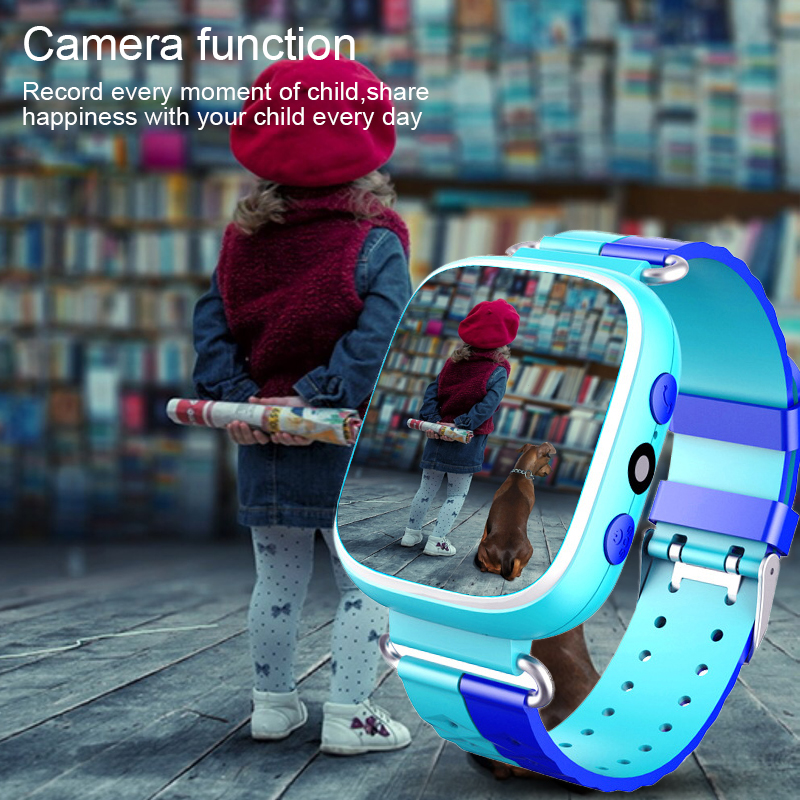 Color Screen Children's Anti-lost Smart Phone LBS Positioning Sos Watch Student sport Baby healthy care watch SIM with camera