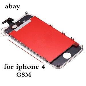 Image 2 - Aaa iPhone 4 GSM A1332 CDMA A1349 4 4S LCD ディスプレイタッチスクリーンデジタイザー交換モジュール GSM/CDMA 液晶画面デッドピクセル