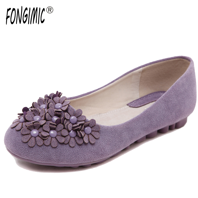 New Hot Sale Spring Autumn Women Flats Six Colors Breathable Casual Wear Shoes Slip-on Round Toe Comfortable  Appliques 2015 hot sale new spring autumn women flats sweet bowtie casual fashion ladies wedding shoes