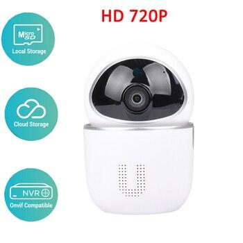 YCC365 HD 720 P almacenamiento en la nube inteligente WiFi cámara IP inalámbrica Modo de Audio AP de dos vías