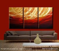 Hand Painted Modern Oil Painting Texture Red Abstract Canvas Wall Art Decoration Picture Contemporary Artwork