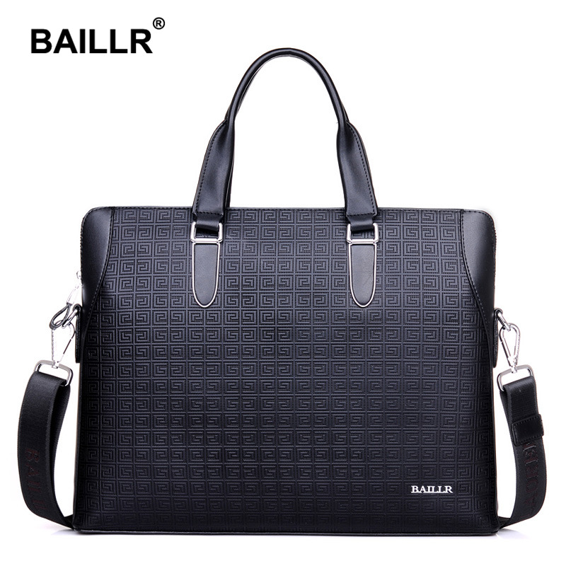 Brand Luxury Men s Briefcase Genuine Leather Men Bag Business Leather Briefcase Men Laptop Leather Bag