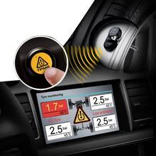 2016 recién llegado de Wireless sistema de monitoreo de presión Sensor incorporado para reproductor de DVD del neumático de coche del sistemas y seguridad