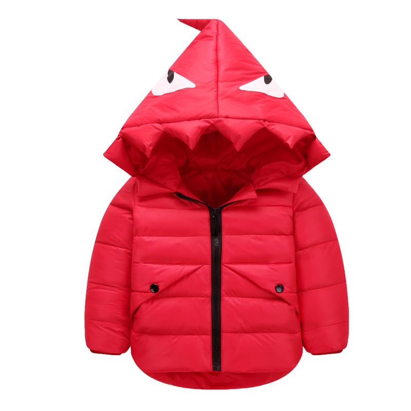 New 2016 Children Down Jacket for Girls Winter Thick Hooded Boys Winter Jackets and Coats Brand
