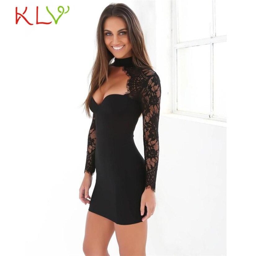 KLV Primavera Otoño Vestidos de mujer Poliéster Mini vestido de - Ropa de mujer - foto 2