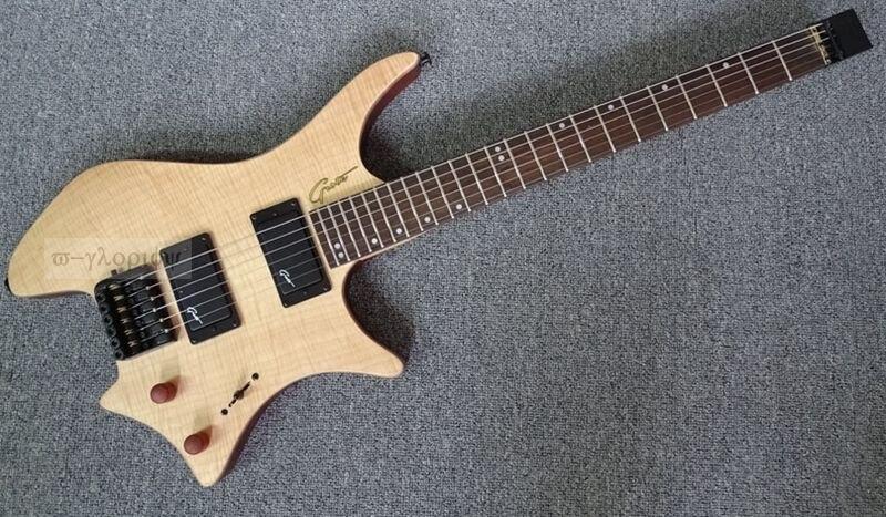 Haute qualité sans tête guitare électrique