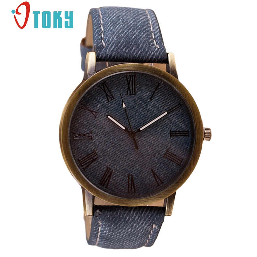 OTOKY Men Watches Vintage Retro Leather Analog Quartz WristWatch Top Brand Luxury Male Cowboy Clock Relogio Masculino Gift 1pc new listing men watch luxury brand watches quartz clock fashion leather belts watch cheap sports wristwatch relogio male gift