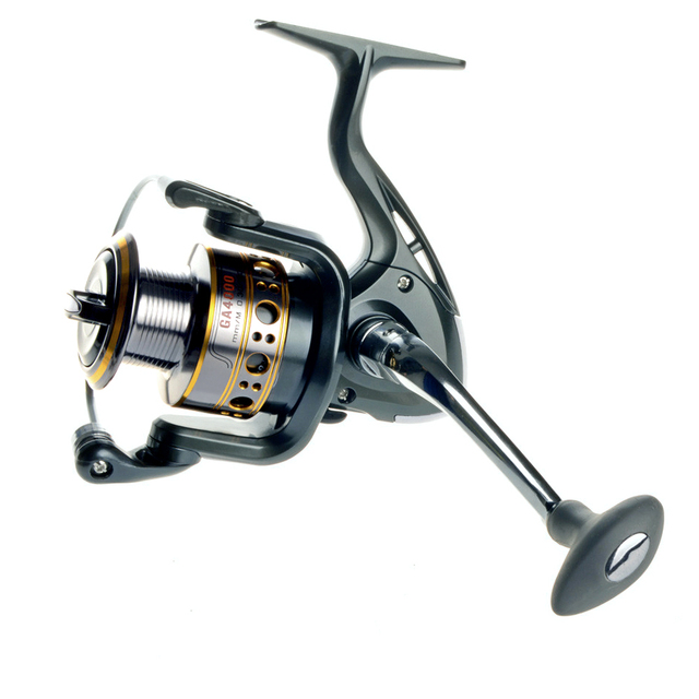 Hot Sale!!Soloplay 12+1BB Spinning Fishing Reel One-way Clutch Wheel GA Carp Ice Fishing Gear 5.5:1 Real 13BB  Bait Casting Reel