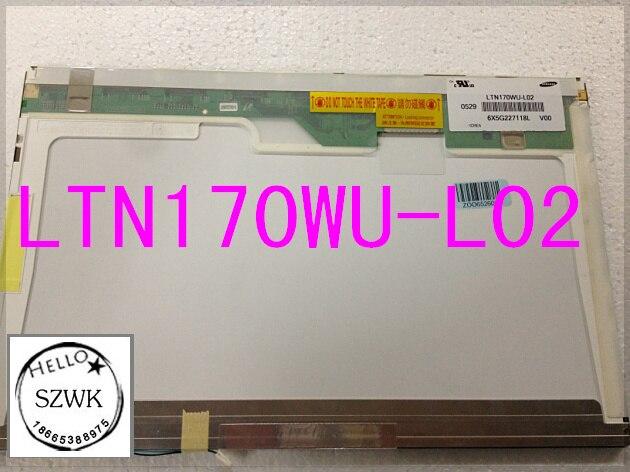 "17"" laptop display Screen panel LTN170WU-L02 WUXGA 1920*1200"
