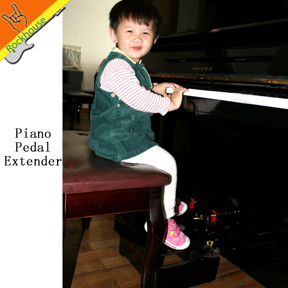 Piano Pedal Extender Kids piano pedal solve the problem that the kids can not tread the piano pedal designed for children piano books for the young musician