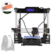 Tronxy Desktop 3D Printer Kits DIY Self Assembly Acrylic Frame i3 with TF Card Max Printing Size 220*220*240mm