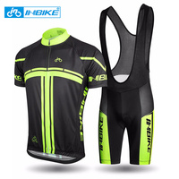 INBIKE 2017 Men S Cycling Jerseys Set For Outdoor Biking Bicycle Bib Sorts 3D Gel Padded