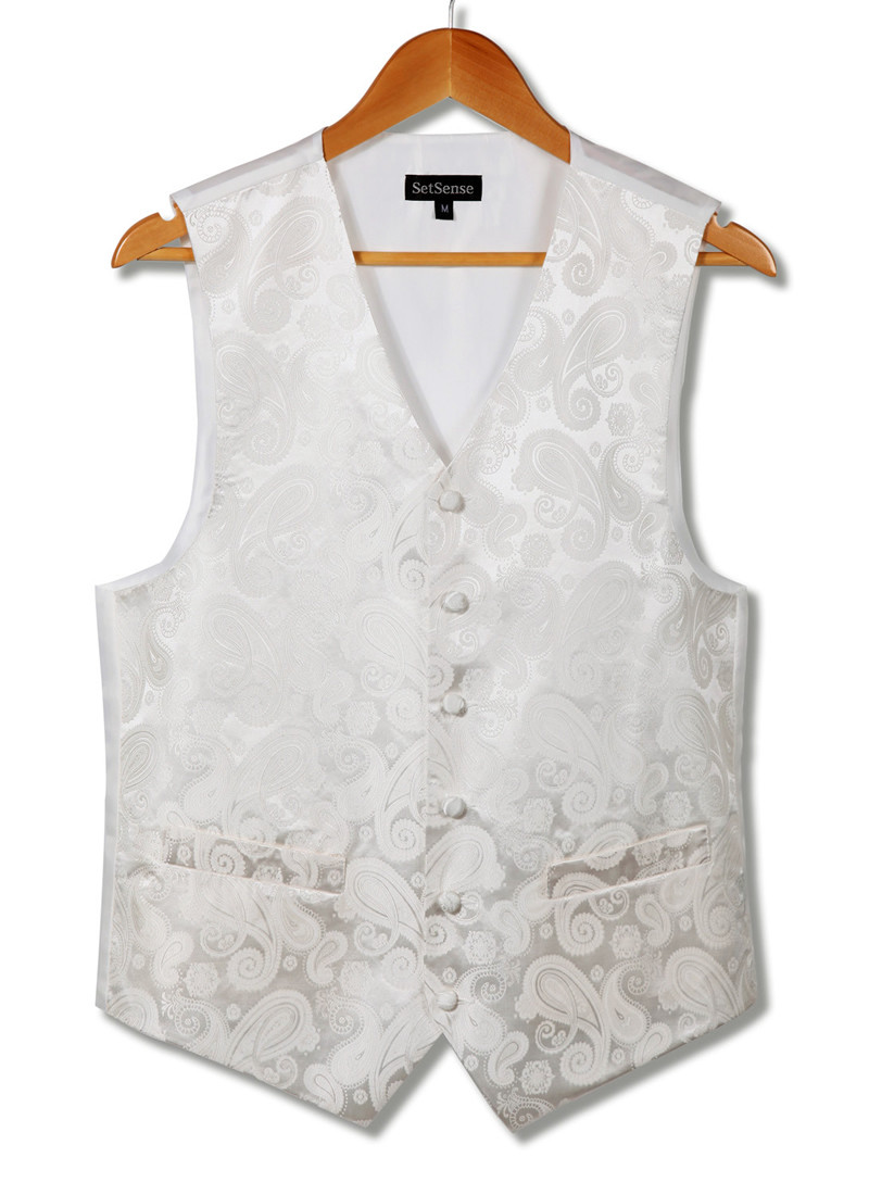 VE02 White Beige  Paisley (9)
