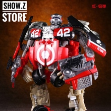 [Show.Z Store] THF Toy House Factory THF-02 Leadfoot Deluxe DA34 Movie 3 Dark of The Moon Transformation Action Figure