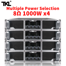 TKL 4*1000w Pure post-grade power amplifier professional DJ line array  Subwoofer poweramp For Stage 4 channel amplifier fp10000q line array amplifier professional 4 1350w professional sound power amplifier line amps