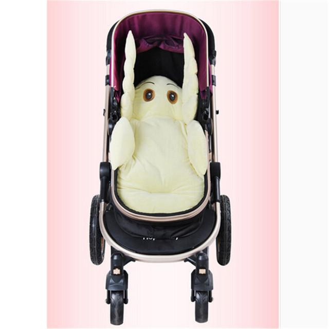 Accesorios cochecitos Elegante Cojín Del Asiento Cojín del Asiento de Coche de Bebé Niño Cesta Bebé Estera Cochecito accesorios almohadillas Generales Para recién nacido