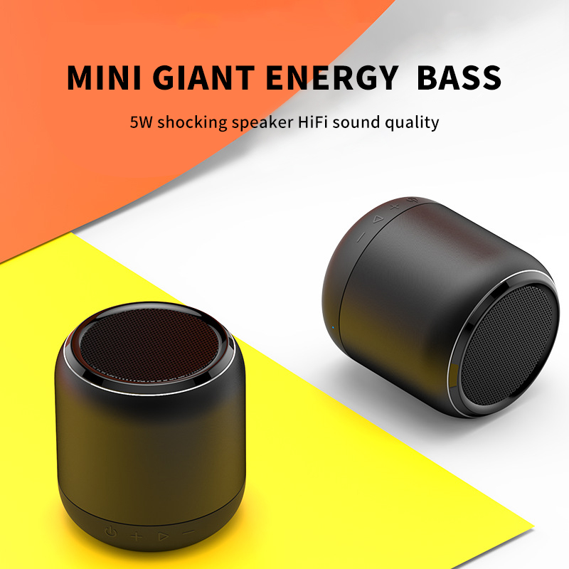 Portable Mini Bluetooth Speaker Wireless Loudspeaker USB AUX TF Music Subwoofer Music Surround Outdoor Handsfree Speaker K13-in Portable Speakers from Consumer Electronics    2