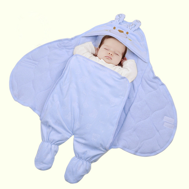 Baby Swaddle Blankets For Newborn Child Sleeping Bag Dual Use