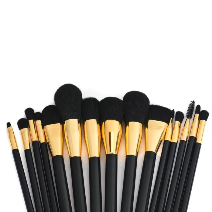 15Pcs Pro Makeup Brushes Cosmetic Make Up Brush Sets  Premium Full Function Blending Powder Foundation Brush maquillage 15pcs blending pencil cosmetic brushes