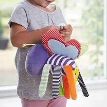 Младенческая новорожденная мягкая плюшевая игрушечная пчела Колокольчик для детской кроватки мягкие Висячие игрушки колокольчики для животных обучающая кукла для коляски CX974439