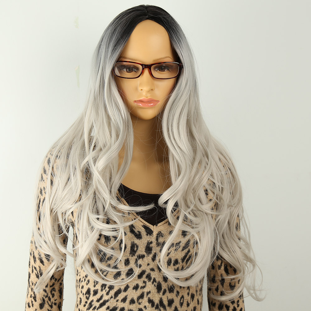 amir hair long curly ombre