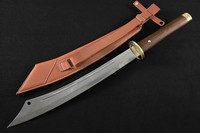 Handmade Chinese Martial Arts Knife China S Second World War Spring Steel High Hardness Multi Function