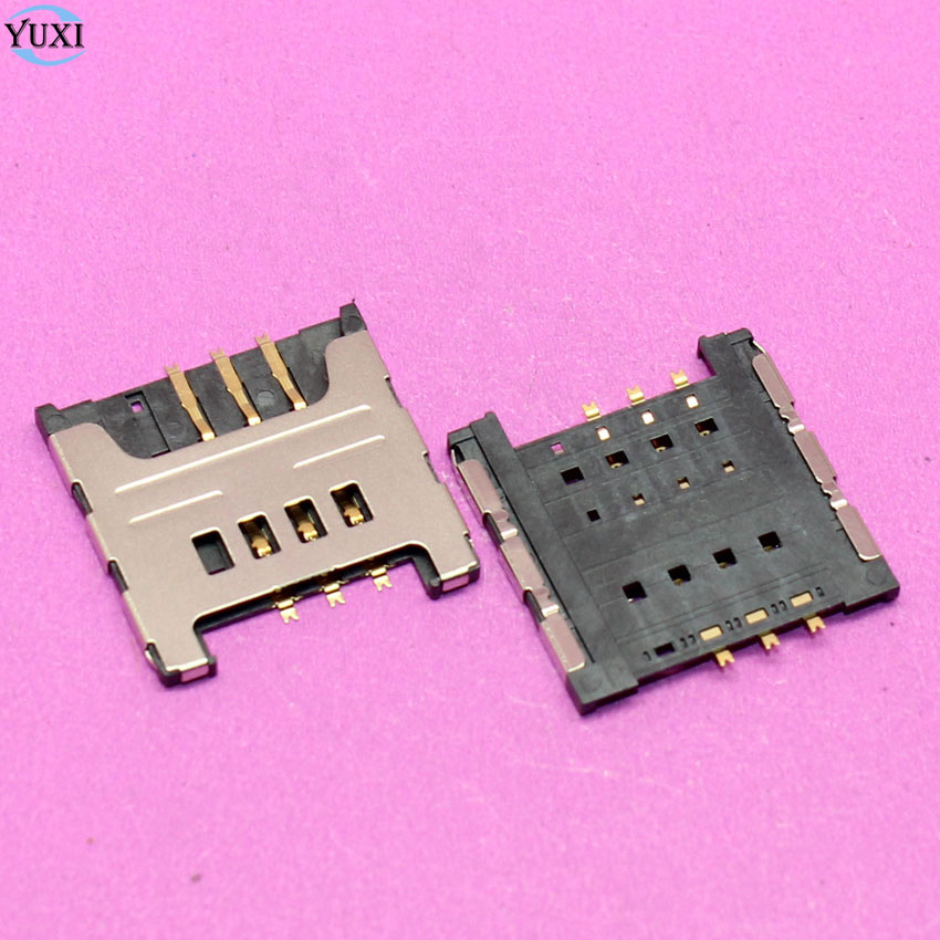 YuXi 500pcs/lot Sim Card reader tray slot adapters socket for Samsung I9000 I9220 N7000 S5690 W689 S5360 S5570 cell phone.