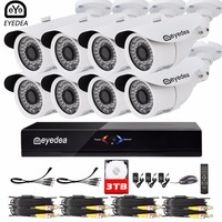 Mom S Day Eyedea 8CH Remote Access HDMI DVR 1080P Outdoor LED Night Vision Business Surveillance