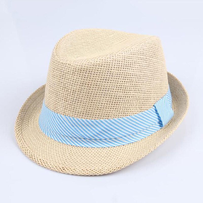 dda1cf33529 New Arrival Children Boys Girls Bowler Hats Summer Panama Straw Hats  Folding Sunhats bucket hat gorras casquette -in Hats   Caps from Mother    Kids on ...