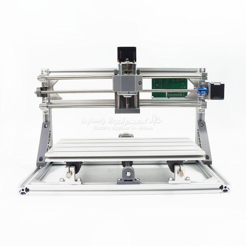 CNC gravure machine Pcb fraiseuse bois sculpture Machine 3018 PRO avec GRBL contrôle peut ajouter tête laser 500 mw/2500 mw/5500 m