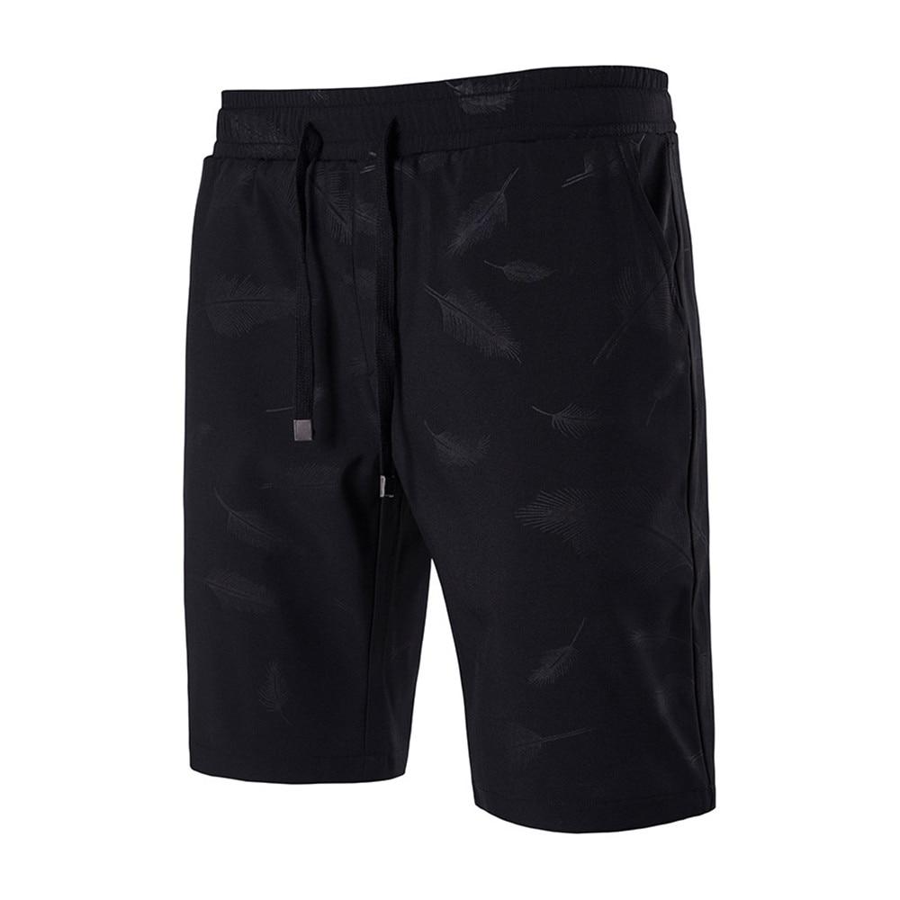 أسود شاطئ الصيف مجلس قصيرة الرجال - ملابس رجالية