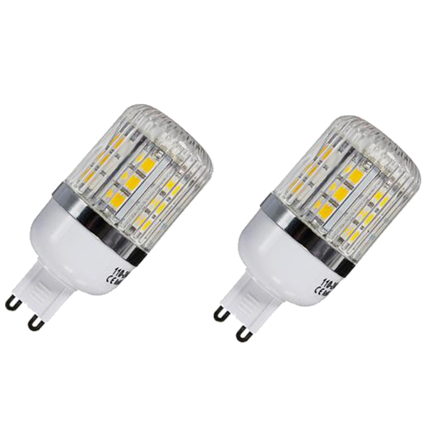 G9 5W Dimmable 27 SMD 5050 LED Corn Light Bulb Lamp Color Temperature:Warm White(3000-3500K) Amount:10 Pcs g9 5w dimmable 27 smd 5050 led corn light bulb lamp color temperature pure white 6000 6500k amount 8 pcs