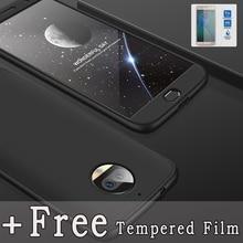 For Motorola Moto G5s Plus / G7 case 3 In 1 full protection Anti-knock matte back phone Shockproof cover