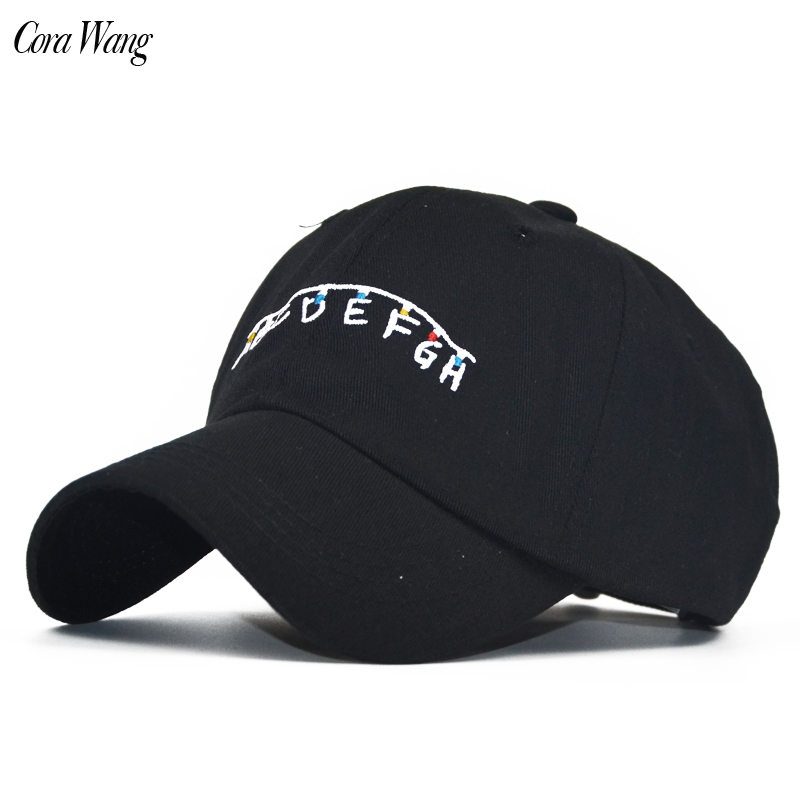 2018 New Arrival 100% Cotton Get ABC color embroidery Dad Hat Brand Unisex Embroidery Summer For Men Women Snapback Caps Unisex