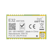 Buy 433MHz LoRa SX1278 470MHz 100mW Long Range 3000m rf Module E32-400T20S 20dBm iot Transmitter and Receiver IPEX Connector directly from merchant!
