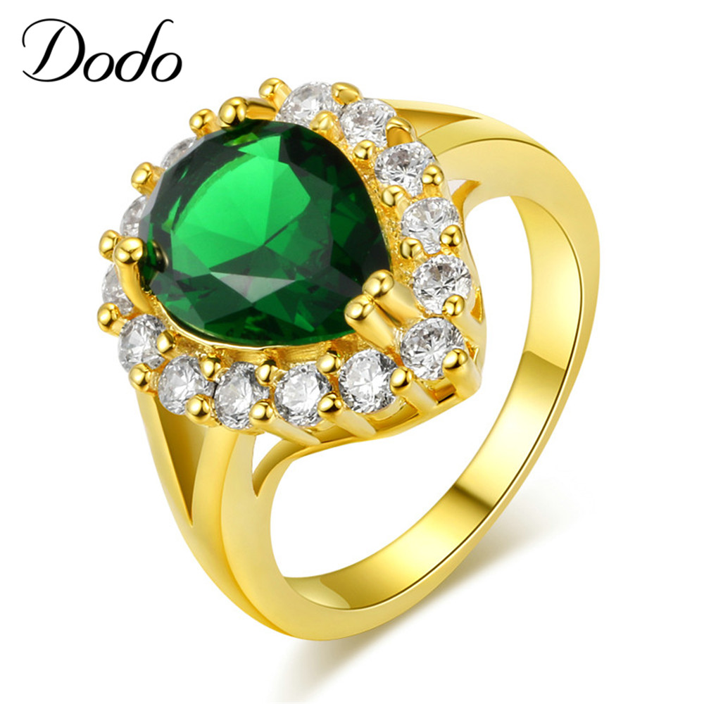 Exquisite green stone vintage crystal elegant jewelry for Exquisite stone